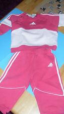 Mädchensportanzug ADIDAS, rot/rosa,  Gr. 80