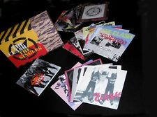 THE CLASH, THE SINGLES, 19 CD SINGLE LIMITED NUMBERED EDITION BOX SET (SEALED)