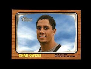 2005 Topps Heritage Football #271 Chad Owens (Jaguars) MINT