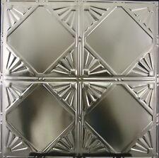 #118-Tin Ceiling Tiles - Unfinished - Nailup, 5 pcs per box