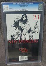 New Avengers #23 (Oct 2006, Marvel) - CGC GRADED 9.8!!