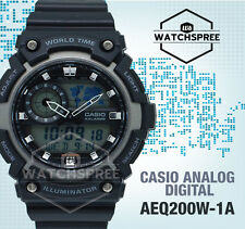 Casio Standard Analog Digital Watch AEQ200W-1A