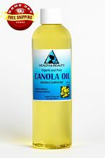 Canola Seed Oil Refined Organic by H&B Oils Center Cold Pressed 100% Pure 4 Oz