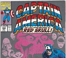 CAPTAIN AMERICA #394 vs The Red Skull from Nov 1991 in Fine+ condition DM