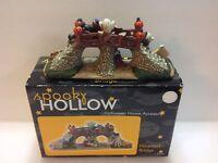 Spooky Hollow Halloween House Accessory Haunted Bridge Year 2002