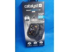 GENUINE - Catalyst Waterproof Apple Watch 44mm Case Series 4 GRAY/Black