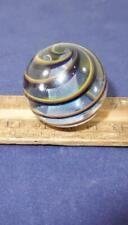 Contemporary Latticinio Core Swirl Marble !!