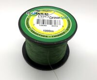 TRECCIATO POWER PRO BRAID 1000 MT PESCA MOSS GREEN MULTIFIBRA TRAINA BOLENTINO