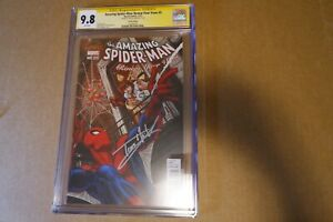 TOM HOLLAND Signed CGC SS 9.8 SPIDER-MAN RENEW YOUR VOWS #5 MARY JANE VARIANT