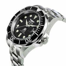 Invicta Men's 47mm 300M Super Grand Diver Automatic Classic Black Dial SS Watch