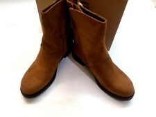 NIB UGG Womens Niels Water Resistant Moto Boots 1018607 Chestnut Size 8.5 $195
