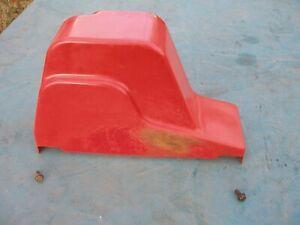 1983 Toro 1132 826 Snowblower Belt pulley Cover OEM 17-6550 Plastic Red 11hp 8hp
