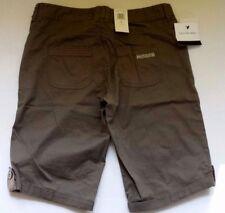 Calvin Klein Bermuda Shorts WG40C08C 2SH Brown Shale (G) Size 6 NWT