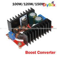 DC-DC 100W 120W 150W Boost Converter 10V-32V to 12V-60V Step Up Power Supply