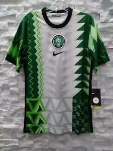 NIKE 2020-21 NIGERIA HOME JERSEY (CT4225-100) GREEN-WHITE-BLACK