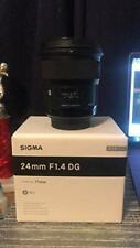Sigma 401101 Canon EF Cameras 24mm f/1.4 Wide-Angle-Prime Lens Fixed Prime (Intl
