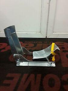 Motorbike Wheel Cassette/Chock for 10-19 inch Wheels Galvanized Transport Stand