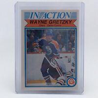 1982-83 OPC O Pee Chee Wayne Gretzky 107 Edmonton Oilers Hockey Card F080
