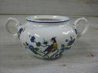 Villeroy & Boch Phönix Blau Zuckerdose ohne Deckel 6,2cm hoch