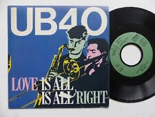 ub 40 love is all is all right 104791   FRANCE  Discotheque RTL