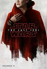 Star Wars Episode VIII The Last Jedi Movie Poster (24x36)-Carrie Fisher, Leia v3