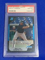 2005 Bowman Chrome Melky Cabrera Yankees #190 PSA 10 GEM MINT Rookie Card