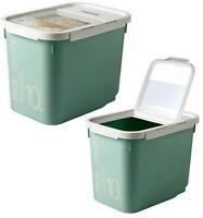 Lock & Lock New Grain Rice Cereal and Pet Food Container Bins 22lbs 10kg HPL561