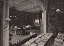 Library of the Royal Colonial Institute. London 1896 old antique print picture