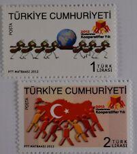 Türkei 2012, Michel Nr. 3970-71, Internationales Jahr der Genossenschaften