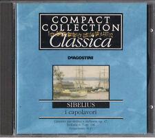 CD - DE AGOSTINI - COMPACT COLLECTION CLASSICA i capolavori - SIBELIUS