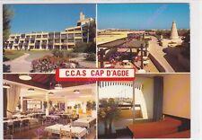 CPSM 34300 CAP D AGDE Village de vacances C.C.A.S.multivues 4 vues Edt SL