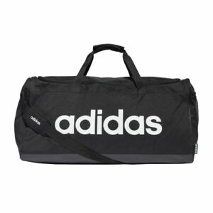 adidas Performance Linear Duffle Bag Large schwarz/weiß - Sporttasche FM2400