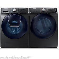 Samsung Black Stainless Front Load Washer Electric Dryer WF50K7500AV DV50K7500EV