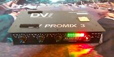 Professional Sound Corp DV ProMix 3 Channel Audio Field Mixer Power Supply XLR