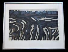 """RAOUL UBAC (1910-1985) Lithographie """"Paysage"""" signée et numérotée."""