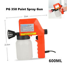 600ML 0.8mm 220V Industry Car Nozzle Electric Spray Gun PG 350 Paint Spray Gun