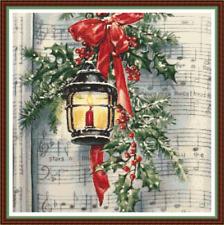 Emma Congdon motivos Calendario de Adviento Navidad festiva Cuadro De Punto De Cruz X5