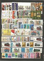 DDR 1981 postfrisch  kompletter Jahrgang  (ohne die abgebildeten  Einzelmarken