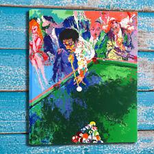 Canvas Art Print Oil Painting LeRoy Neiman Black Break Home Wall Decor 24x30