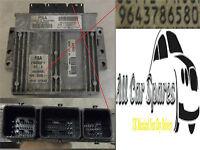Citroen Picasso 1.8 16v - Main Engine ECU - 9643786580