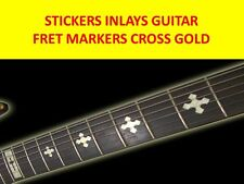 STICKERS INLAY CROSS GOLD FRET MARKERS VISIT OUR STORE WITH MANY MORE MODELS