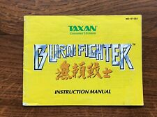Burai Fighter NES Nintendo Instruction Manual Only