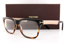 5bd01cf833b47 Tom Ford Unisex Optical Eyeglasses Frame Shiny Black Havana Torte FT 5372  005