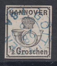 Hannover 17 y gestempelt