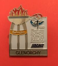 GLENORCHY Sydney 2000 Olympic Torch Relay AMP sponsor pin