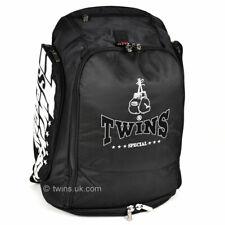 Twins BAG5 Convertible Rucksack Black Gym Training Gear Bag Muay Thai Kickboxing