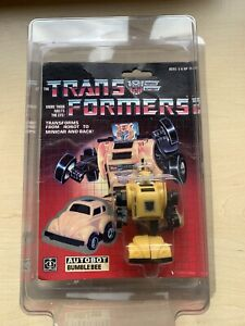 Transformers G1 Bumblebee boxed never opened