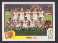 Panini - Korea Japan 2002 World Cup - # 187 Turkiye Team Group