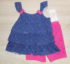 Baby Mädchen 💕 Sommer Kleid 💕 Anzug Set 2tlg 💕 Volantkleid mit Hose 💕  NEU