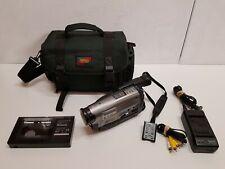 Panasonic NV-RX37A Slim Palmcorder VHS-C Video VHS Camera with Accessories & Bag